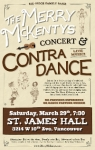 Merry McKentys  Concert and Contra Dance