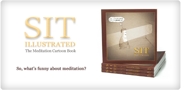 Sit Illustrated: meditation cartoon book