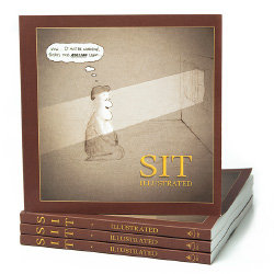 Meditation book - Sit Illustrated