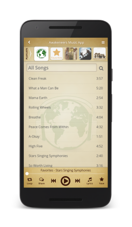 The free Solaris Music App