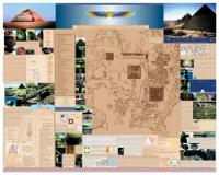 Guide to the Giza Plateau - Laminated Wall Chart