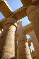 Karnak Temple pillars - Egyptian Temple Image