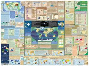 Earth - Laminated Wall Chart