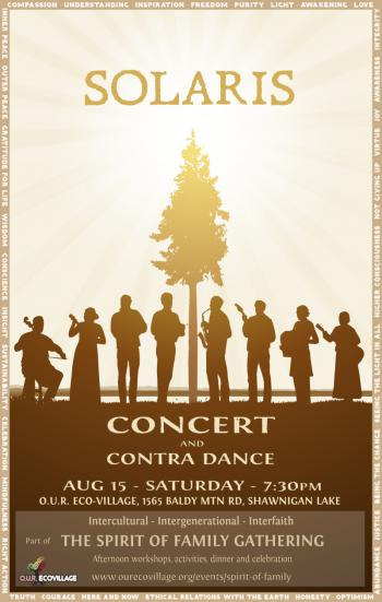 Solaris Concert and Contra Dance
