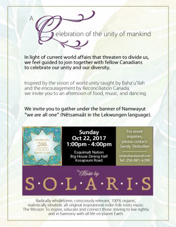 Solaris at Celebration of the unity of mankind