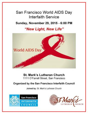 World AIDS Day Interfaith Service